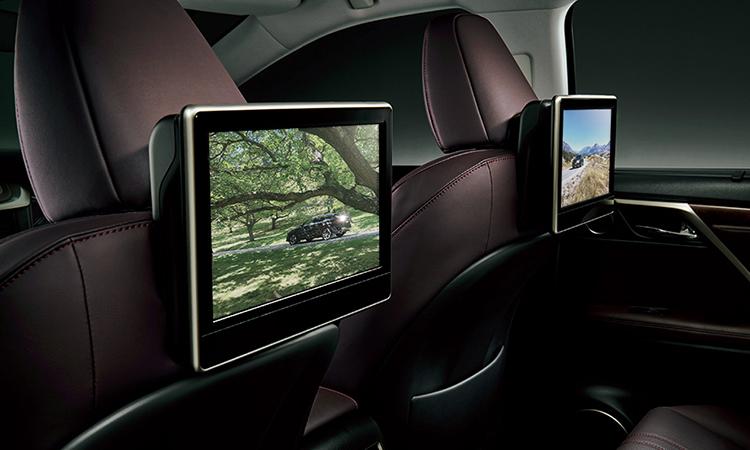 จอสำหรับเบาะที่นั่งด้านหลัง Lexus RX Minorchange (RX300)
