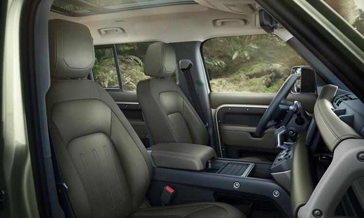 ดีไซน์ห้องโดยสาร All NEW Land Rover Defender