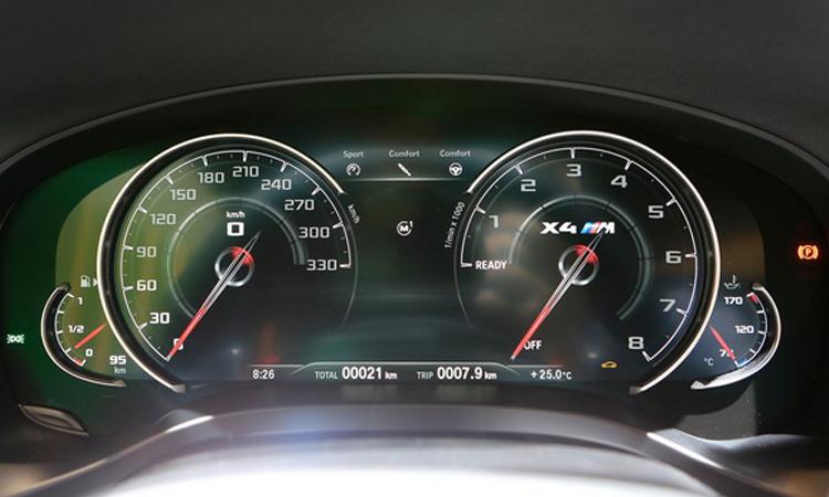 เรือนไมล์ all-new BMW X4 M Model
