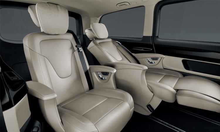 ดีไซน์เบาะหนัง Mercedes-Benz V-Class