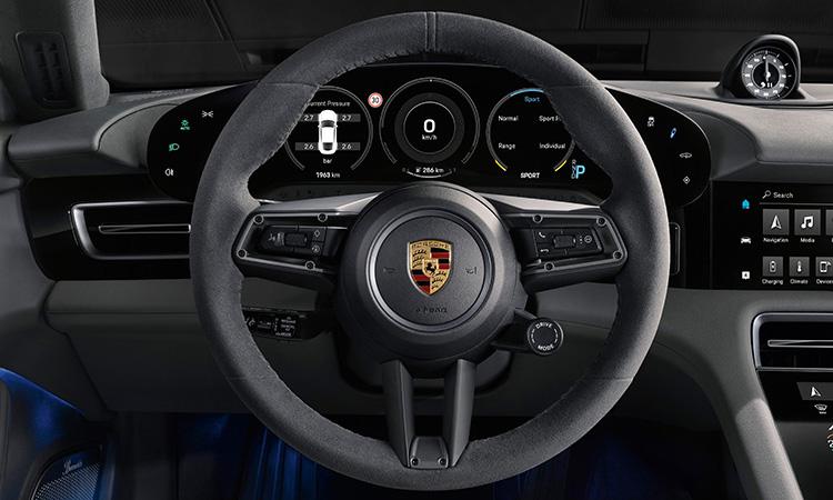 พวงมาลัย Porsche Taycan