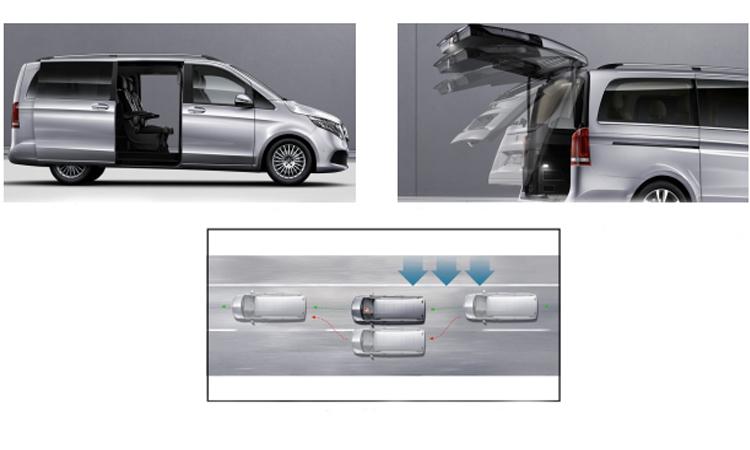 ระบบความปลอดภัย Mercedes-Benz V-Class
