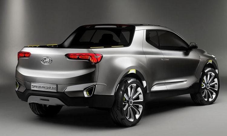 ดีไซน์ Hyundai Santa Cruz