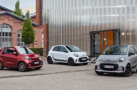 smart EQ fortwo coupé – cabrio และ forfour EV 100%