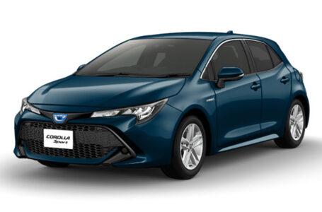 Toyota เปิดตัว Toyota Corolla Sport ในประเทศญี่ปุ่น