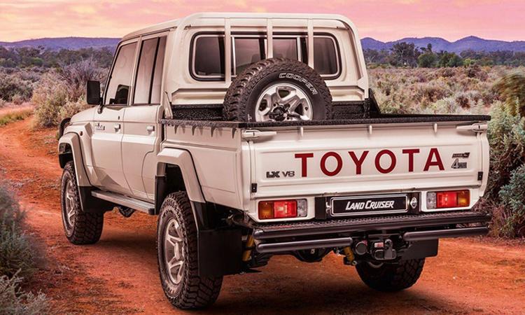 ดีไซน์ภายนอก Toyota Land Cruiser Namib