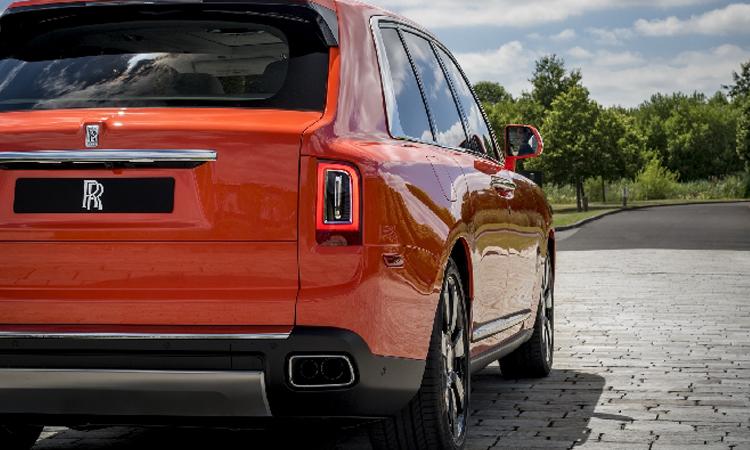 ดีไซน์ไฟท้าย Rolls-Royce Cullinan 2019