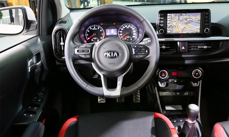 ภายใน Kia icanto EV