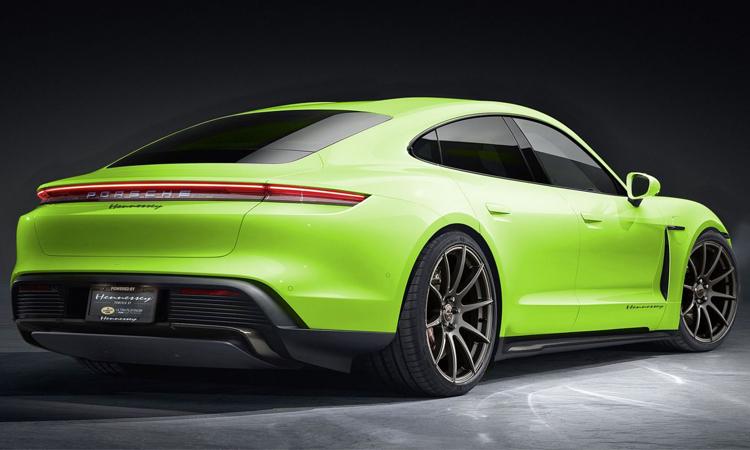 ดีไซน์ Porsche Taycan