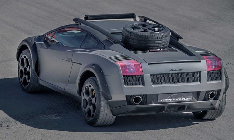 ดีไซน์ Lamborghini Gallardo