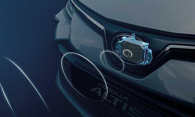 กล้องมองหน้า ระบบความปลอดภัย All NEW Toyota Corolla ALTIS