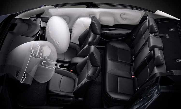 ถุงลมนิรภัย 7 ตำแหน่งNEW Toyota Corolla ALTIS
