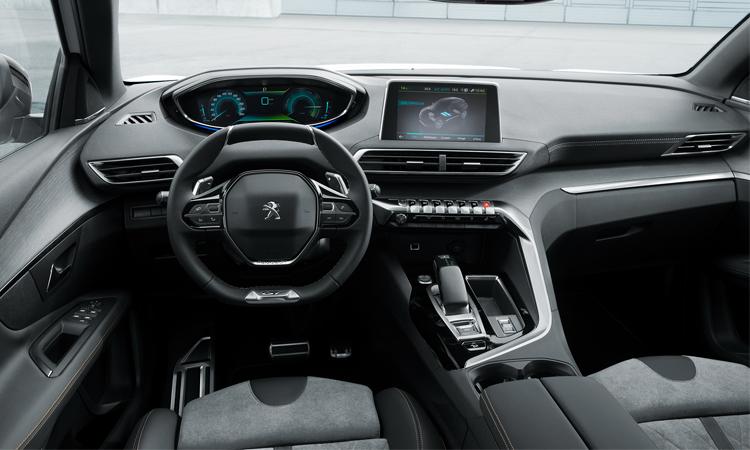 ดีไซน์ภายใน Peugeot 3008 GT Hybrid4