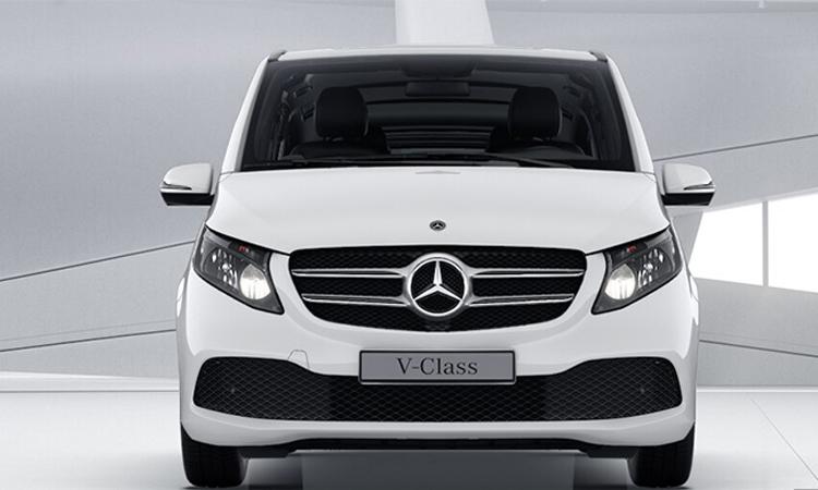 ดีไซน์ด้านหน้า เครื่องยนต์ New Mercedes-Benz V-Class