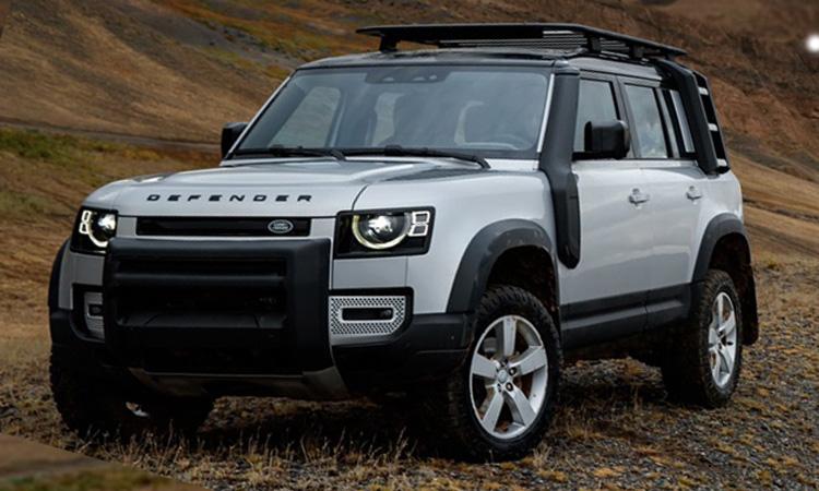 ดีไซน์ภายนอก All NEW Land Rover Defender