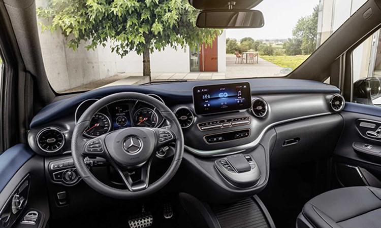 ดีไซน์ภายใน Mercedes-Benz EQV