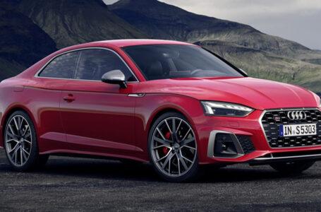 Audi ได้ทำการปรับโฉมหน้าใหม่ของ Audi A5 Minorchange ทั้งตัว Sportback, Coupé และ Cabriolet