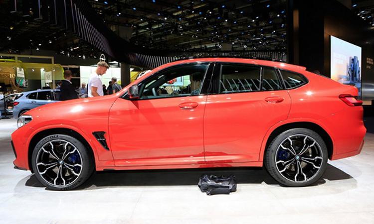 ดีไซน์ all-new BMW X4 M Model
