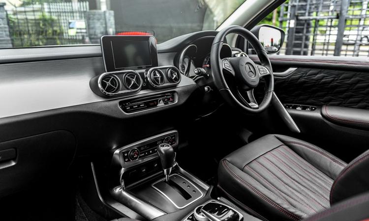 ดีไซน์ภายใน Mercedes-Benz X-Clas