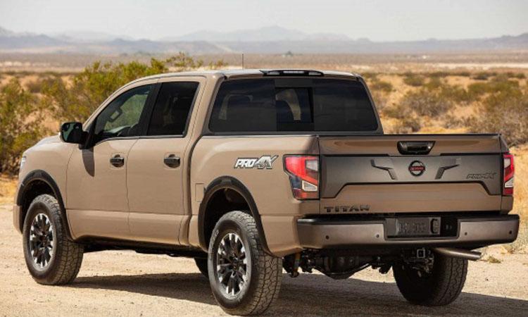 ดีไซน์ Nissan Titan 2020