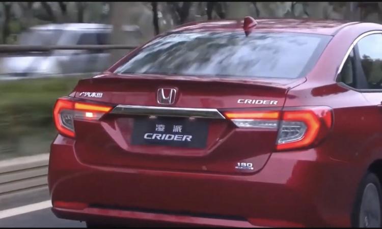 ท้าย Honda City 2020 ที่ประเทศจีน