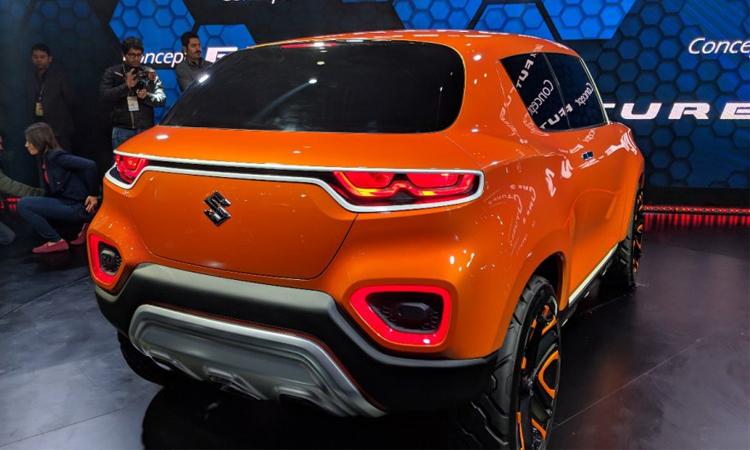 ดีไซน์ไฟท้าย Suzuki S-Presso