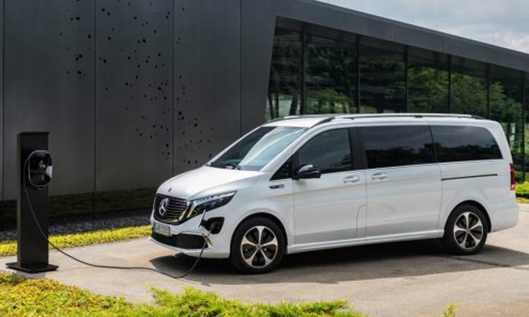 ดีไซน์ภายนอก Mercedes-Benz EQV
