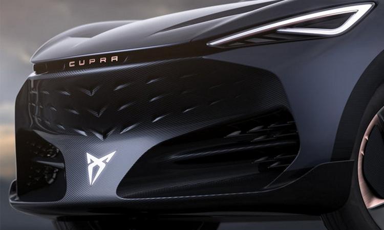 กระจังหน้า Cupra Tavascan Concept