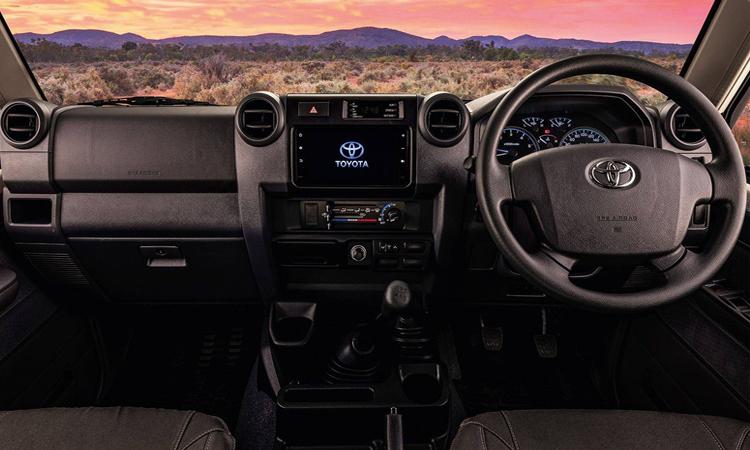 ดีไซน์ภายใน Toyota Land Cruiser Namib