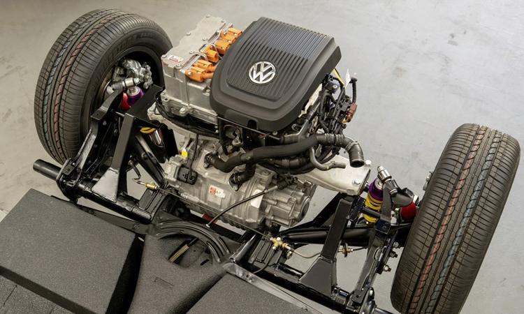 เครื่องยนต์ Volkswagen e-Beetle Concept