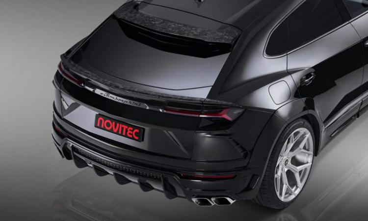 ดีไซน์หลัง Lamborghini Urus