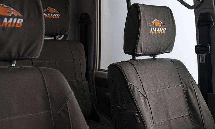 เบาะ ดีไซน์ภายใน Toyota Land Cruiser Namib