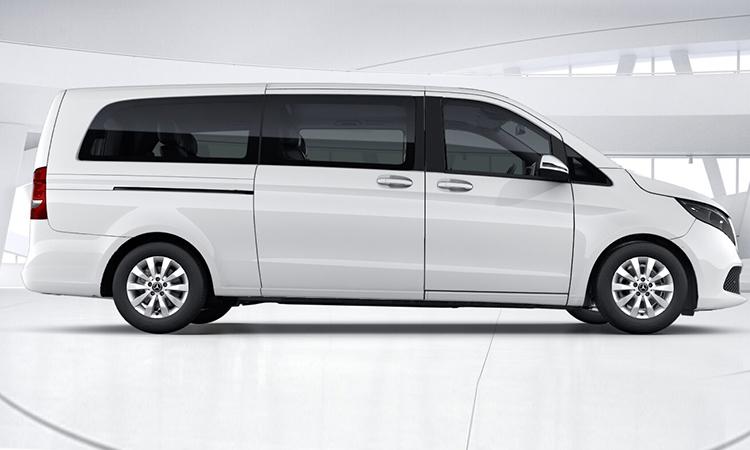 การออกแบบประตู เครื่องยนต์ New Mercedes-Benz V-Class