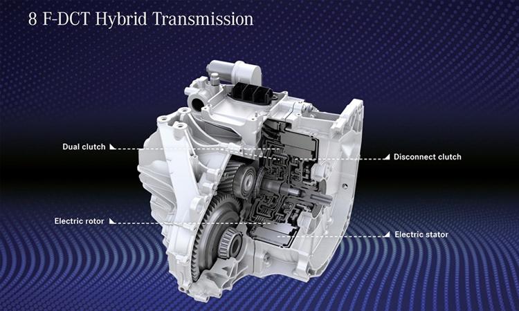 เครื่องยนต์ Mercedes-Benz A 250e Plug-in Hybrid