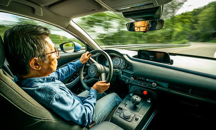 ภายใน Mazda รถยนต์ไฟฟ้า Full EV 100%