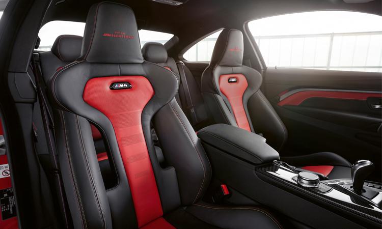 ภายใน BMW M4 Edition M Heritage