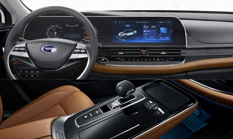 ดีไซน์ภายใน GAC-Toyota iA5 EV