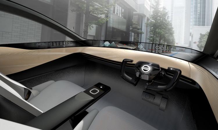 ภายใน Nisan IMx KURO Concept Crossover EV
