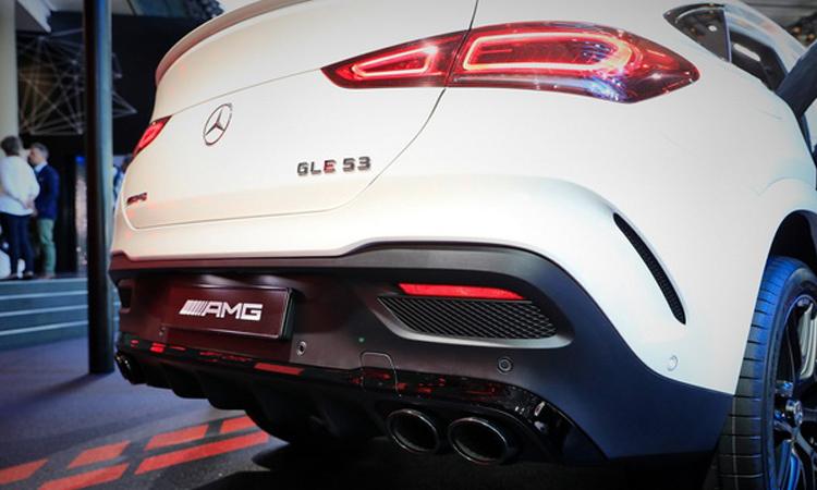 กันชนท้าย Mercedes Benz AMG GLE 53 Coupe