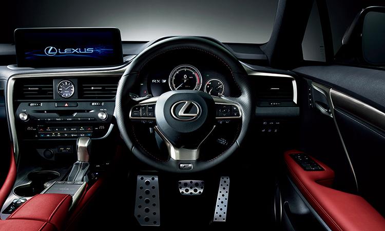 พวงมาลัยขนาดของตัวถัง Lexus RX 300 Minorchange
