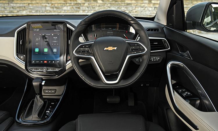 ดีไซน์ายใน Chevrolet Captiva 1.5 TURBO