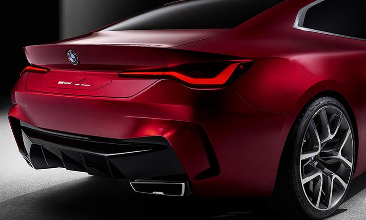 ดีไซน์ไฟท้าย BMW Concept 4
