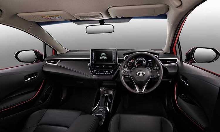 ดีไซน์ายใน Toyota Corolla Altis