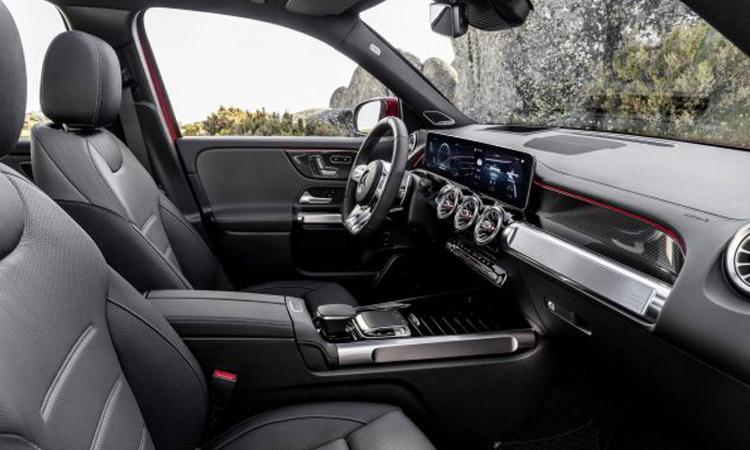 ดีไซน์ภายใน Mercedes-AMG GLB 35