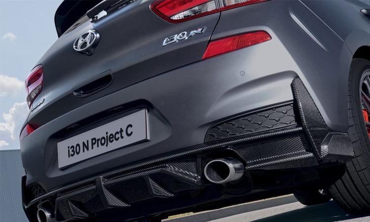 กันชนท้าย Hyundai i30 N Project C