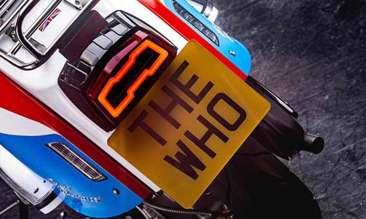 ไฟท้าย Scomadi TT125i และ TT200i The Who Limited Edition
