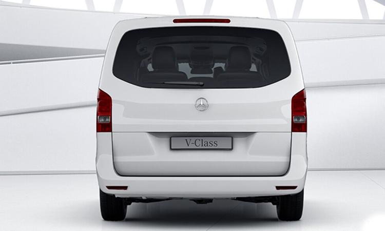 ดีไซน์ท้าย เครื่องยนต์ New Mercedes-Benz V-Class