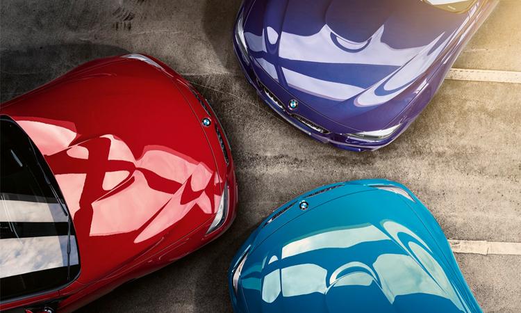 สี BMW M4 Edition M Heritage