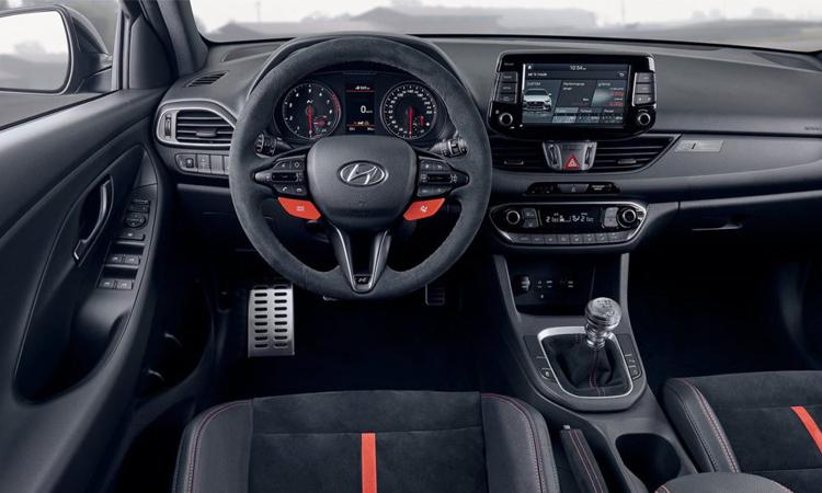 ภายใน Hyundai i30 N Project C