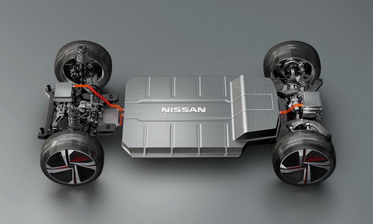 แบตเตอร์รี่ Nisan IMx KURO Concept Crossover EV
